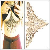 others - Tatuajes Adhesivos - Non Toxic / Talla Grande / Tribal / Parte Lumbar / Waterproof / Metálico / Flash - Otros -Mujer / Adulto /