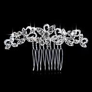 새로운 빗 한국어 다이아몬드 합금 신부 머리 장식 판매 보석