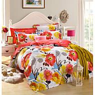 3pc Duvet Cover Set Pure Cotton Fabric Queen Size