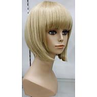 Exquisite 100% Human Hair Wig Capless Natural glueless cap wig Hair Short Blonde Wigs