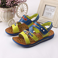 Boy's Sandals Spring / Summer Slingback / Open Toe / Sandals Leather Outdoor / Casual / Athletic Blue / Green