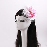 Women's / Flower Girl's Imitation Pearl / Fabric / Net Headpiece-Wedding / Special Occasion / Casual Flowers 1 Piece