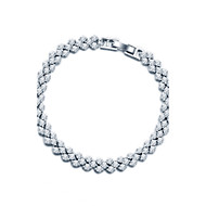 Armbänder(Sterling Silber / ZirkoniaVintage / Niedlich / Party / Büro