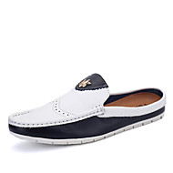 Men's Shoes Office & Career / Party & Evening / Casual Leather Oxfords Black / White