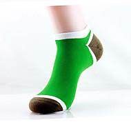 12 par menn strøk sokker tilfeldige sokker av høy kvalitet for å kjøre / yoga / fitness / fotball / golf