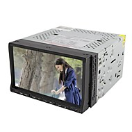 7-inch tft-scherm 2 din in-dash auto dvd-speler met Bluetooth, navigatie-ready gps, rds, dvb-t, rl-203wgdr02