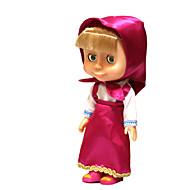 בובת צעצוע מוסיקה אדום גומי לילדים / ורד