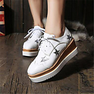 Women's Shoes  Platform Creepers Fashion Sneakers Outdoor / Casual Black
