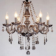 40W Chandelier ,  Modern/Contemporary / Traditional/Classic / Vintage Painting Feature for Crystal GlassLiving Room / Bedroom / Dining