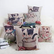 Baolisi Set of 6  Meow Star Series Decorative Pillow /Modern Fashion Couples