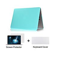 """hele kroppen tilfældet + TPU tastatur cover + skærmbeskytter mat plast til MacBook Air 11 """", retina 13"""" / 15 """""""