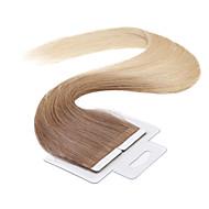 neitsi 100% taśmy w ludzkich włosów rozszerzeń wątek prosto skóry wątek włosów 18 cal