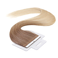 neitsi 100% nauhan hiuksista kude pidennys suorat iho kude hiukset 18 tuuman