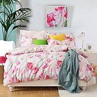 I Love You,  High-end Full Cotton Reactive Printing Pattern Cartoon Bedding Set 4PC, Queen/ Full Size Quality Goods