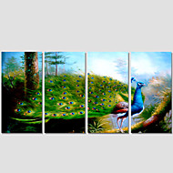 Canvas Print Art Set Of 5 Wall Pictures For Linving Room Abstract Phoenix Scenery Pictures Home Decor