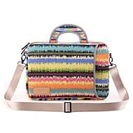 poznámka vzory laptop taška přes rameno vodotěsný plátno kabelka pro MacBook Air 13,3 MacBook pro13.3 / 15,4