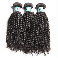 3 Pcs /Lot 8-28inch Brazilian Kinky Curly Virgin Hair 100% Brazilian Human Hair Weave Bundles