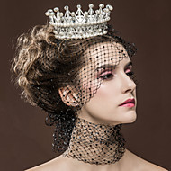 Luxury Women's Rhinestone  Pearl Special Occasion Bridal Tiaras  Party Headpiece HG2339