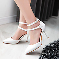 Women's Shoes Stiletto Heel Heels / Pointed Toe Heels Wedding / Party & Evening / Dress Blue / Pink / White