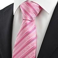 Pruhy-Kravata(Růžová / Červená,Polyester)