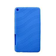 """Silicone Rubber Gel Skin Case Cover for Huawei MediaPad T1 T1-701u 7""""Tablet(Assorted Colors)"""