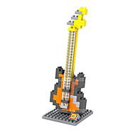 Bausteine Für Geschenk Bausteine Model & Building Toy Musik Instrumente ABS 8 bis 13 Jahre Gelb Grau Spielzeuge