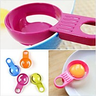 Easy Egg Yolk White Separator Sieve Holder Divider Kitchen Utensil Cooking Tool Random Color
