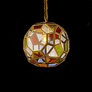 Porch Lamp Aisle LightsBalcony Lamp Cloakroom Hall Exotic Small Copper Chandelier