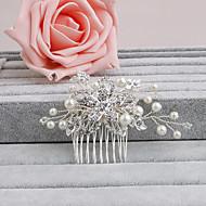 Donne Strass Copricapo-Matrimonio / Occasioni speciali / Casual / Formale / All'aperto Fermagli 1 pezzo Chiaro
