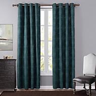 Ein Panel Modern Tupfen Grün Schlafzimmer Polyester Verdunklungsvorhänge Vorhänge