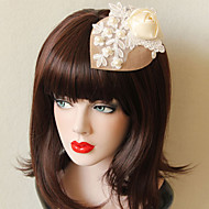 The Butterfly Lace Bowler Hat