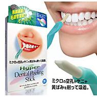 dentes beleza borracha limpa higiene oral dente mais clara clareamento dental