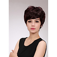 Machine Made 100% Human Hair Wig Wave/Curly Wig For Women