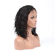 7a plné krajka lidské vlasy paruky pro černé ženy brazilské vlasy paruka uvolněné kudrnatý krajky vpředu lidský vlas paruky Glueless