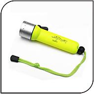 Osvětlení LED svítilny LED 1000 Lumenů 3 Režim LED 18650 Voděodolný / Malé Každodenní použití / Potápění a vodáctví / Vodní sporty