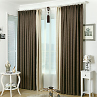 Two Panels  Joinnt Blackout  Curtain