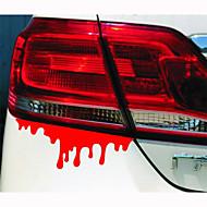 14 * 5cm reflektierende Blutungen Persönlichkeit Auto Aufkleber (1pcs)