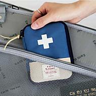 旅行用ピルケース 携帯用 小物収納用バッグ のために 携帯用 小物収納用バッグ レッド ブルー