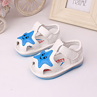 Baby Shoes Outdoor / Dress / Casual Leather Sandals Yellow / Pink / Ivory / White