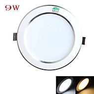 Zweihnder Wiring 9W 4Inch 750LM 3000-3500 / 5500-6000K 18x5730 SMD LEDs Warm/White Light Ceiling Light (AC 100-265V)