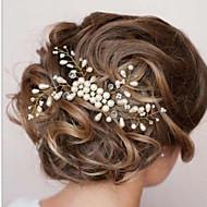 Vrouwen Parel Helm-Bruiloft / Speciale gelegenheden Haarkammen 1 Stuk