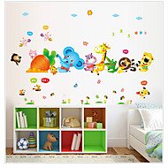 AY9239 Free shipping Removable Wall Stickers Cartoon Animals Harvest Carrots Kids Bedroom Home Decor Mural Decal