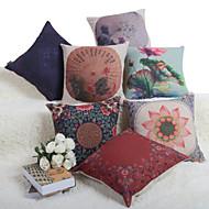 Baolisi Set of 7 Chinese Wind Series Decorative Pillow /Modern Fashion Couples