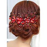 Women's / Flower Girl's Rhinestone Headpiece-Wedding / Special Occasion Headbands 1 Piece