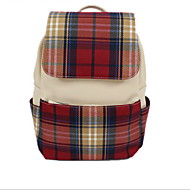 GG Students Outdoor Fashion Casual Plaid Backpack Female Models School Bag Sports & Leisure Bag