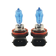 Carking™ HOD H8 100W 6000K Ultra Bright Car Warm White Light Bulbs (DC 12V/Pair)