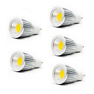 ZDM™ 5PCS  7W GU10/E27/GU5.3 550LM Warm/Cool White Light LED COB Spot Lights(85-265V)