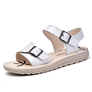 Women's Summer Peep Toe / Platform / Creepers Leather Outdoor / Casual / Athletic Platform Buckle Blue / Pink / White