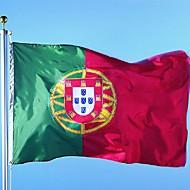 150x90cm portugal flagg 3x5ft portugal land flagg flagg portugisisk flagg (uten flaggstang)