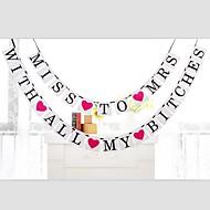 Gyöngyház fényű papír Esküvői dekoráció-1db / Set Tavasz Nyár Ősz Tél Nem személyesíthető